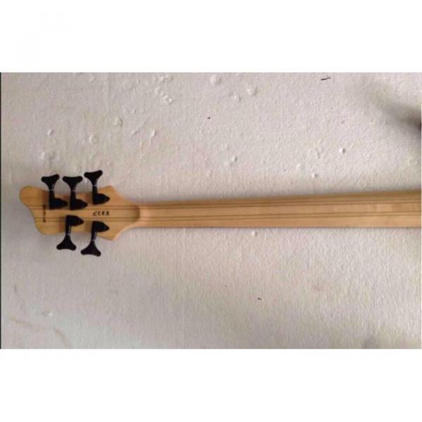 Custom Mayones Built 6 String Sunburst Bass #5 image