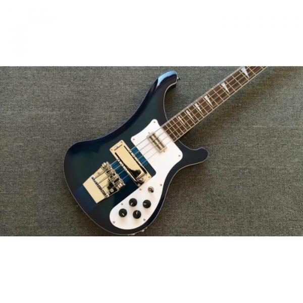 Custom Made Blue 4003 Bass Neck Through Body #1 image
