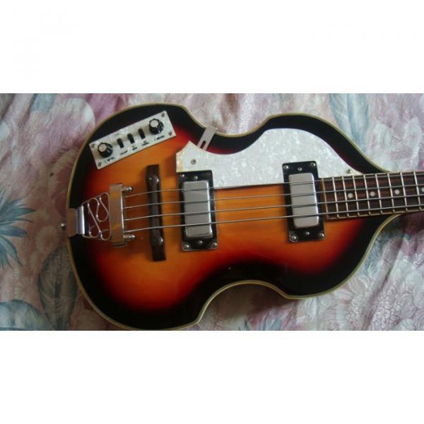 Custom Left Handed Glen Burton Vintage Bass #1 image