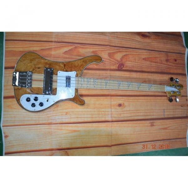Custom Koa 4003 Neck Thru Body Construction Naturalglo Bass #1 image