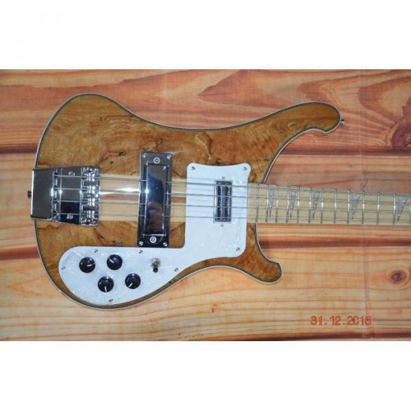 Custom Koa 4003 Neck Thru Body Construction Naturalglo Bass #2 image