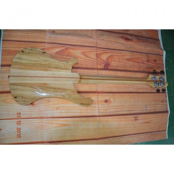 Custom Koa 4003 Neck Thru Body Construction Naturalglo Bass #3 image