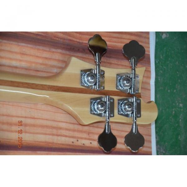 Custom Koa 4003 Neck Thru Body Construction Naturalglo Bass #4 image