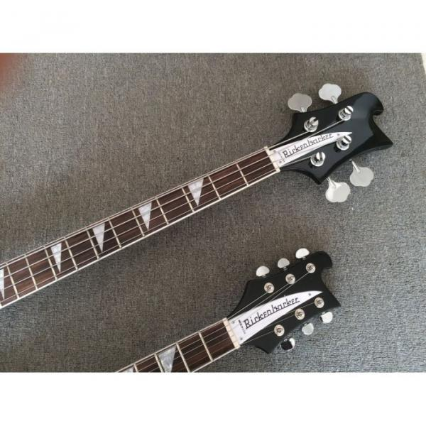 Custom Built 4080 Double Neck Geddy Lee 4 String Bass 6/12 String Option Guitar #3 image