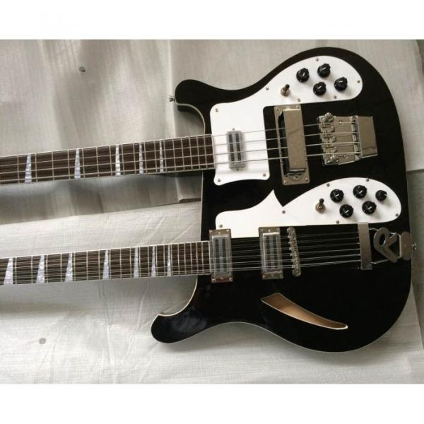 Custom 4003 Double Neck Mike Rutherford of Genesis 4 String Bass 6/12 String Option Guitar #1 image