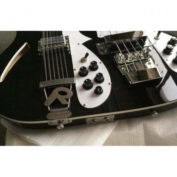Custom 4003 Double Neck Mike Rutherford of Genesis 4 String Bass 6/12 String Option Guitar #5 image