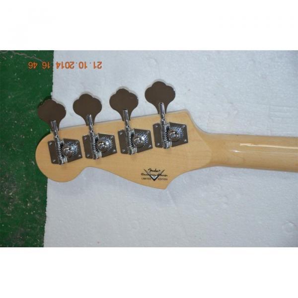 Custom Shop Sparkle Gold Jazz Silver Dust Metallic Bass Guitar #3 image