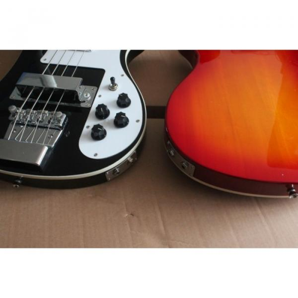 2 Pcs Fireglo Jetglo Rickenbacker 4003 Bass #2 image