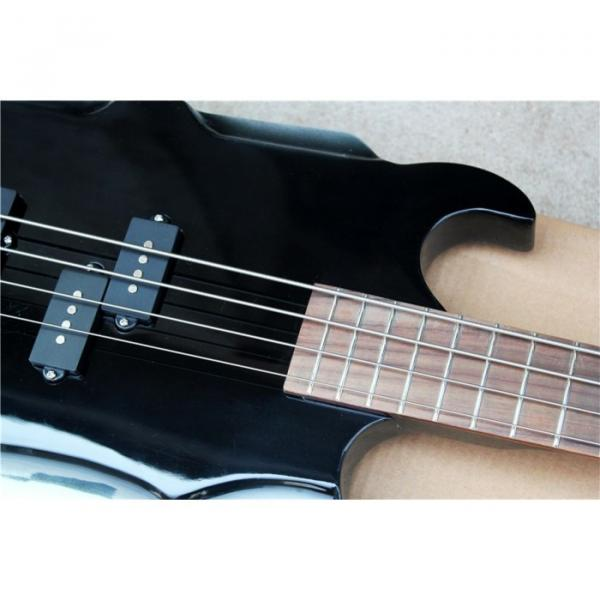 Custom Shop Cort Axe Black Gene Simmons 4 String Bass #5 image