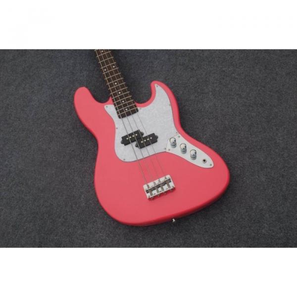 Custom Shop American Pink 4 String Jazz Bass #1 image