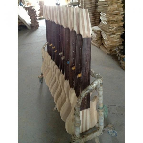 Custom Shop 8 String Black 5 Pcs Wood Electric Ken Smith Bass #4 image