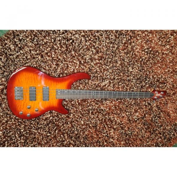 Custom Shop 4 String Cort Sunburst Electric Bass #1 image