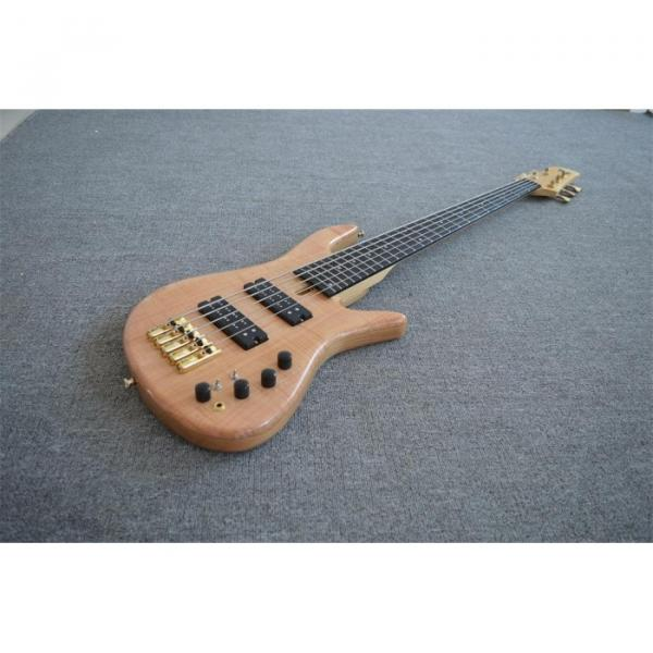 Custom Shop 5 String Natural Finish Bass #2 image