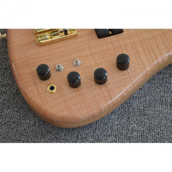 Custom Shop 5 String Natural Finish Bass #3 image