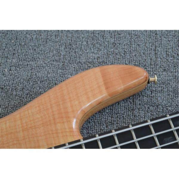 Custom Shop 5 String Natural Finish Bass #4 image
