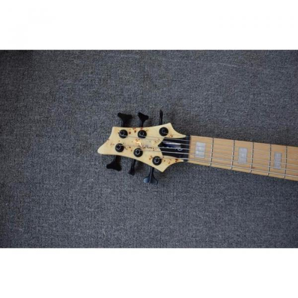 Custom Butterfly Fodera 6 Strings Bass Natural Finish #2 image