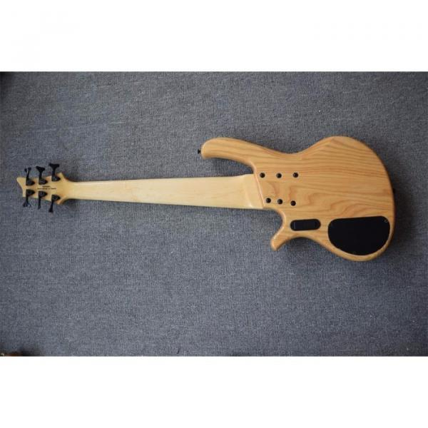 Custom Butterfly Fodera 6 Strings Bass Natural Finish #5 image