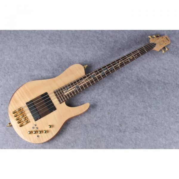 Custom American Standard 5 String Bass Fordera Finger Ramp #1 image