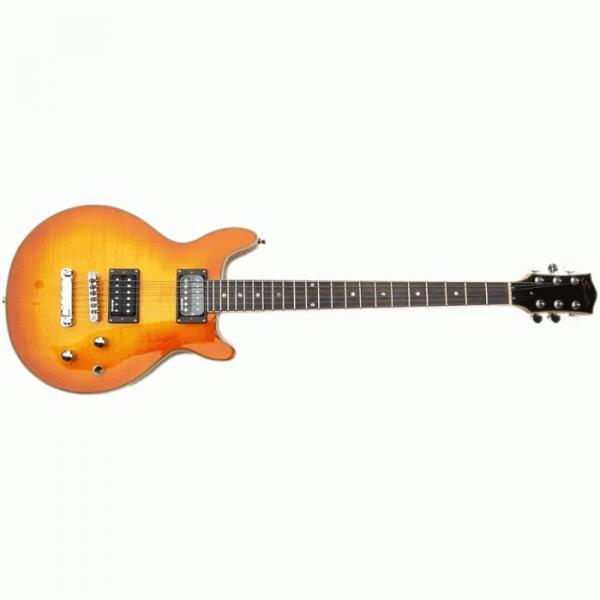The Top Guitars Brand SPR 21 Sunburst Design Electric Guitar #1 image