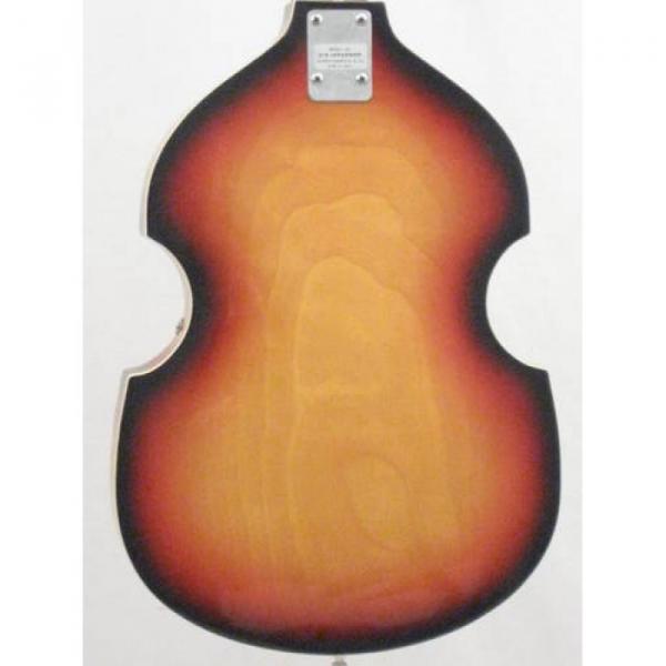 Vintage Silvertone Brand Violin Style 4 String Electric Bass Guitar #2 image
