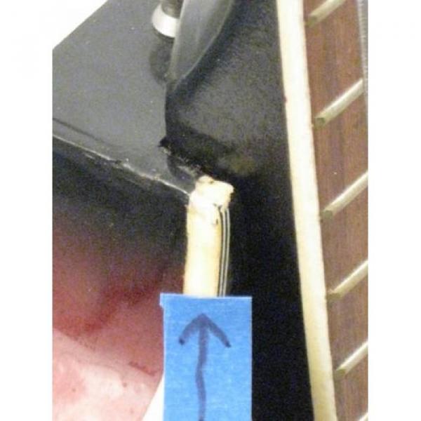 Vintage Silvertone Brand Violin Style 4 String Electric Bass Guitar #5 image