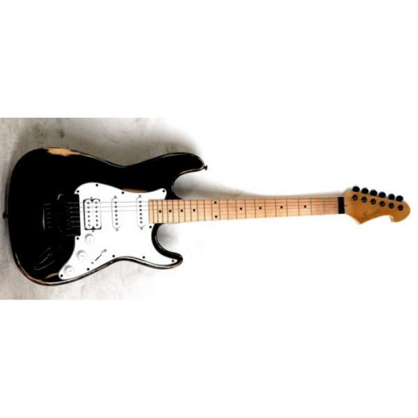 Super Black SST FGL Design Electric Guitar #1 image