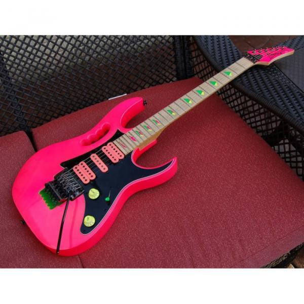 Project Custom Pink Ibanez Jem 6 String Electric Guitar #1 image