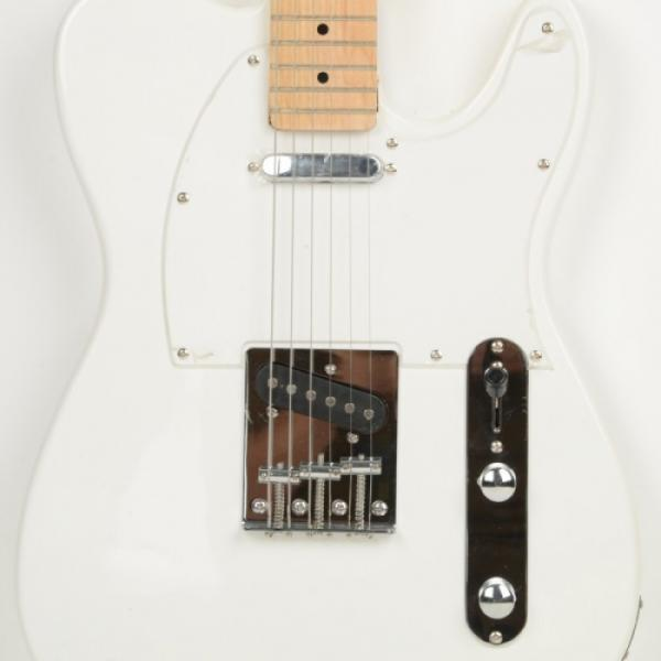 Professional Electric Guitar White with Amplifier Bag Strap Tool Pick #5 image