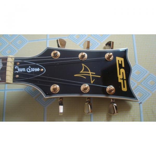Custom Black ESP Black Beauty Electric Guitar #6 image