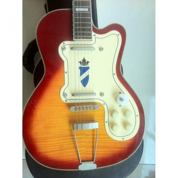 Kay Jazz  Special Sunburst Electric Guitar Rare #1 image