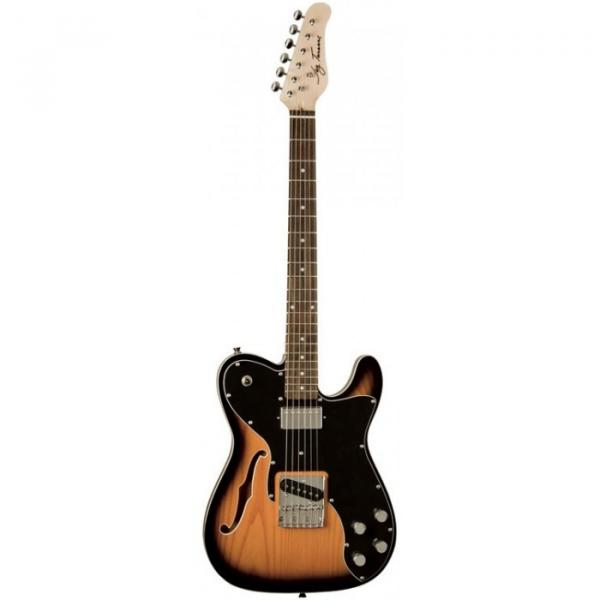 Jay Turser LT-Custom 69 Series Electric Guitar Tobacco Sunburst #1 image