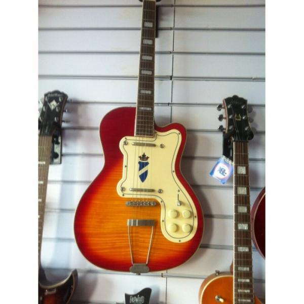 Kay Jazz  Special Sunburst Electric Guitar Rare #4 image