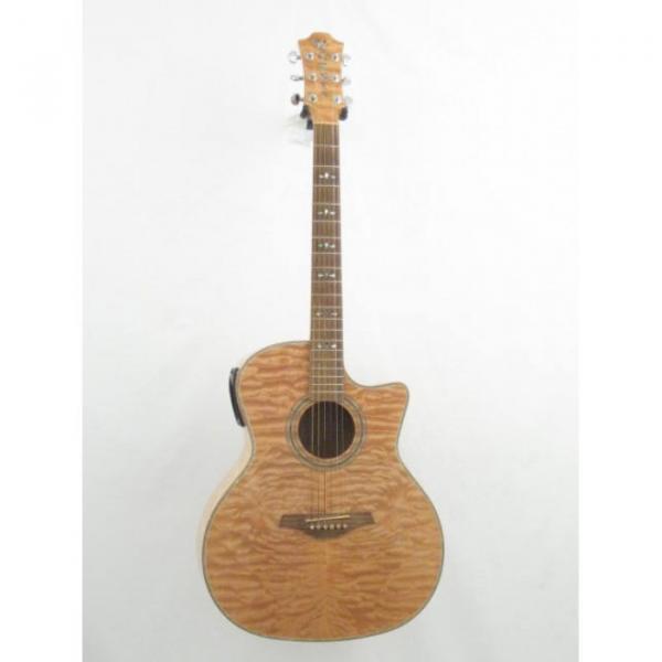 Hohner Grand Auditorium Model ACcoutic Electric Cutaway Guitar #1 image