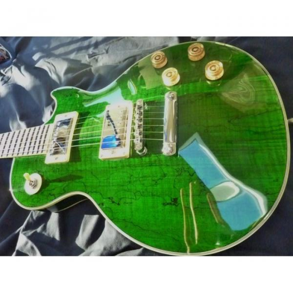 Green Jimmy Logical Electric Guitar #4 image