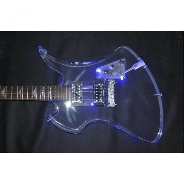 Fernandes Burny MG-360s Acrylic Mocking Bird Electric Guitar BC Rich #1 image
