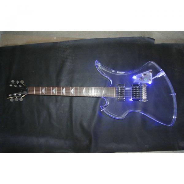 Fernandes Burny MG-360s Acrylic Mocking Bird Electric Guitar BC Rich #2 image