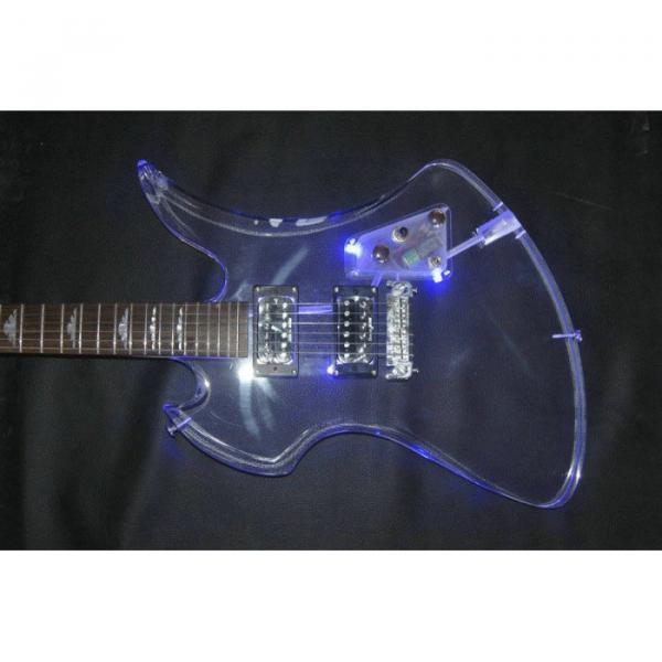 Fernandes Burny MG-360s Acrylic Mocking Bird Electric Guitar BC Rich #4 image