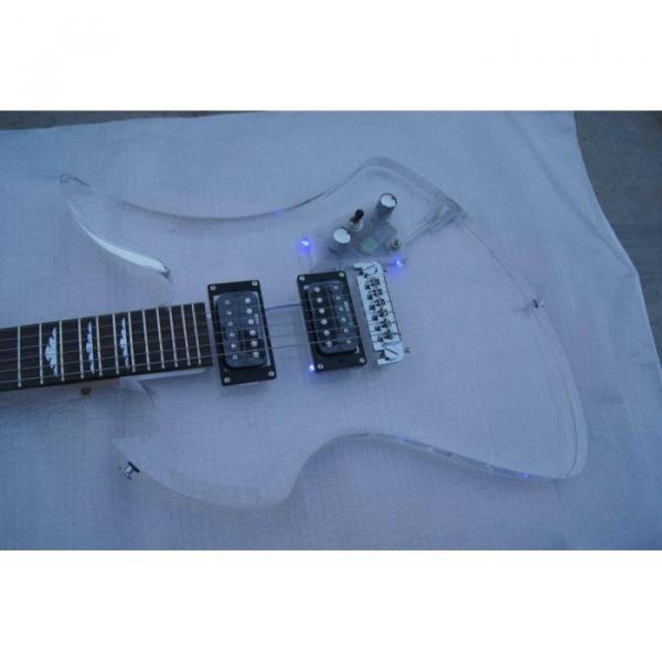Fernandes Burny MG-360s Acrylic Mocking Bird Electric Guitar BC Rich #5 image