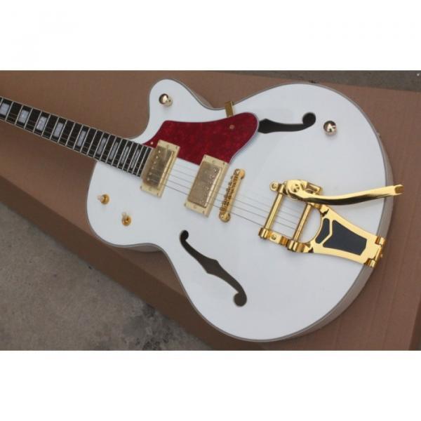 Custom White 6120 Setzer Nashville Electric Guitar #1 image