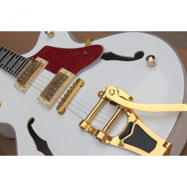 Custom White 6120 Setzer Nashville Electric Guitar #2 image