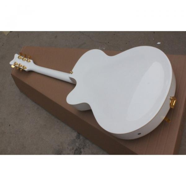 Custom White 6120 Setzer Nashville Electric Guitar #3 image