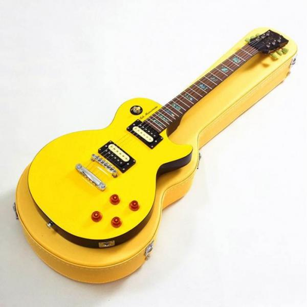 Custom Shop Yellow Tak Matsumoto Electric Guitar #1 image