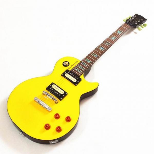 Custom Shop Yellow Tak Matsumoto Electric Guitar #2 image