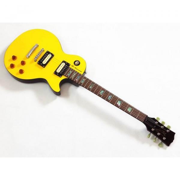 Custom Shop Yellow Tak Matsumoto Electric Guitar #3 image