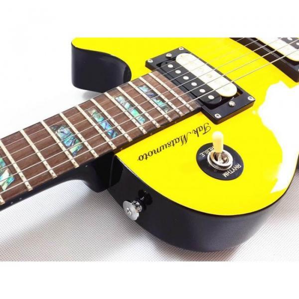 Custom Shop Yellow Tak Matsumoto Electric Guitar #5 image