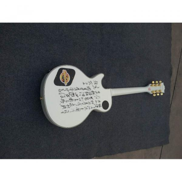 Custom Shop White Personalized Standard Electric Guitar #2 image