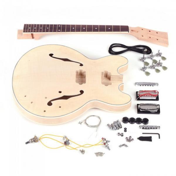 Custom Shop Unfinished ES 335 guitarra Electric Guitar Kit #1 image