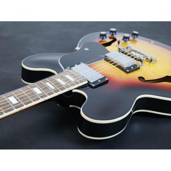 Custom Shop Tri Color Tone ES335 VOS Jazz Electric guitar #2 image