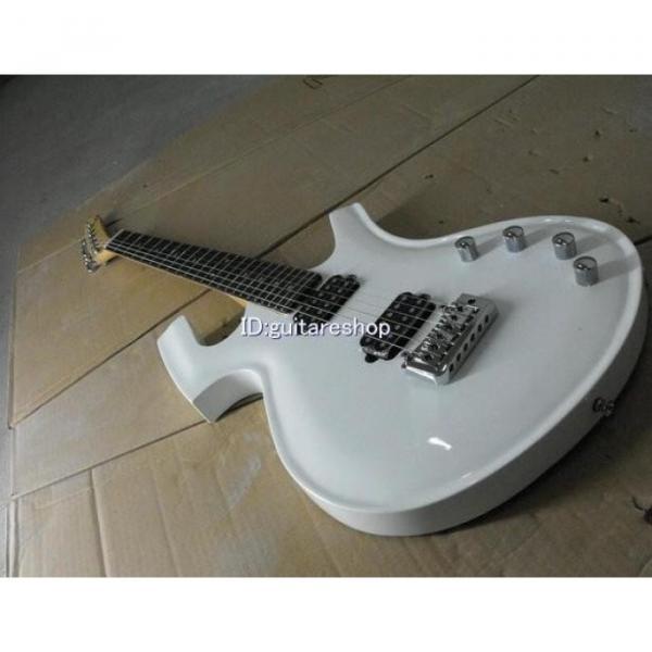 Custom Shop Unique White Fly Mojo Electric Guitar #1 image