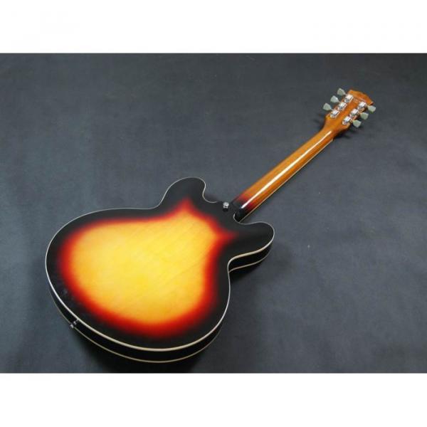 Custom Shop Tri Color Tone ES335 VOS Jazz Electric guitar #3 image